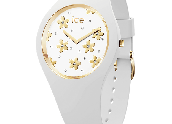 Montre ICE WATCH - ICE FLOWER Precious White - Small - 016658