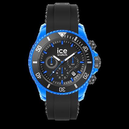 Montre ICE WATCH Chrono Black bleue -  Extra large - 019844