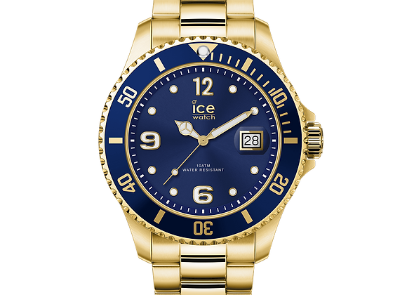 Montre ICE WATCH - ICE STEEL - GOLD BLUE - LARGE - 016762