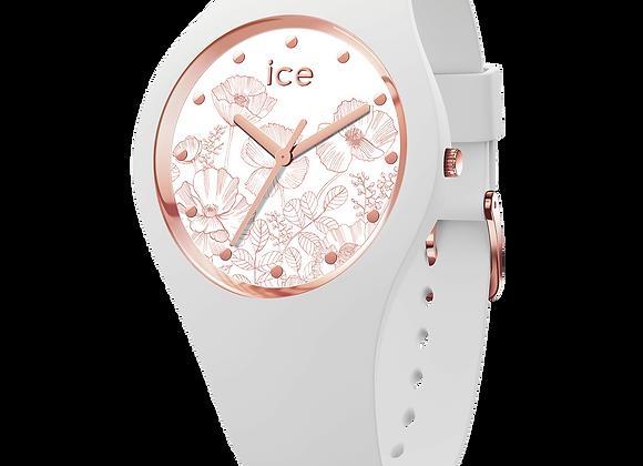 Montre ICE WATCH - ICE FLOWER SPEINF WHITE - MEDIUM - 016 669