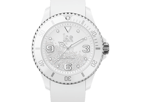 ICE crystal - White silver 017246