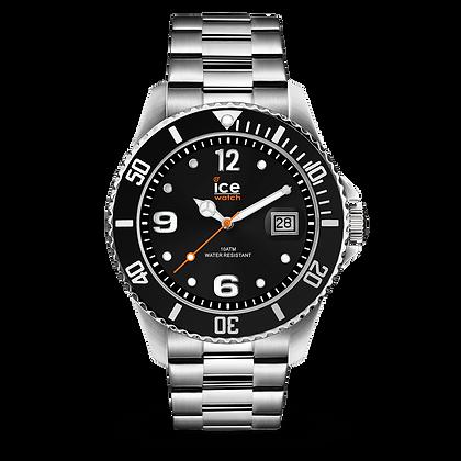 Montre ICE WATCH - ICE STEEL - BLACK SILVER - MEDIUM - 016031