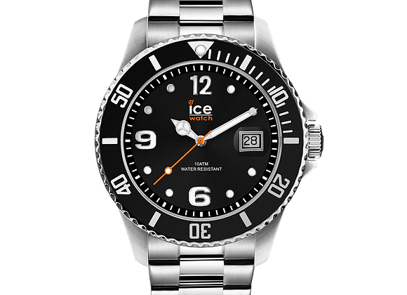 Montre ICE WATCH - ICE STEEL - BLACK SILVER - MEDIUM - 016031