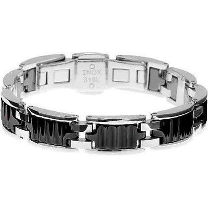 Bracelet  Rochet Acier Céramique - BRACB422081