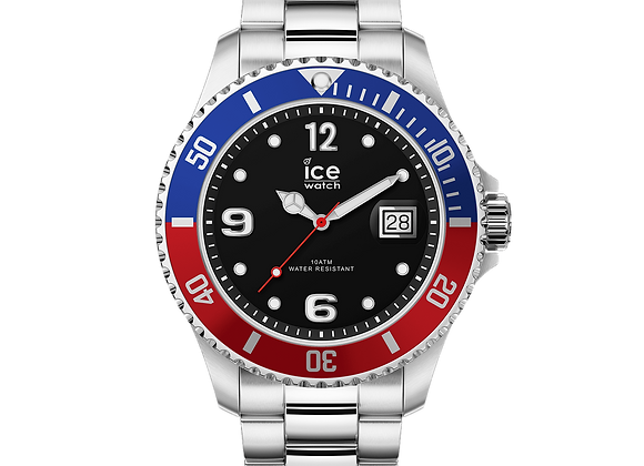 Montre ICE WATCH - ICE STEEL - UNITED SILVER - LARGE - 016547