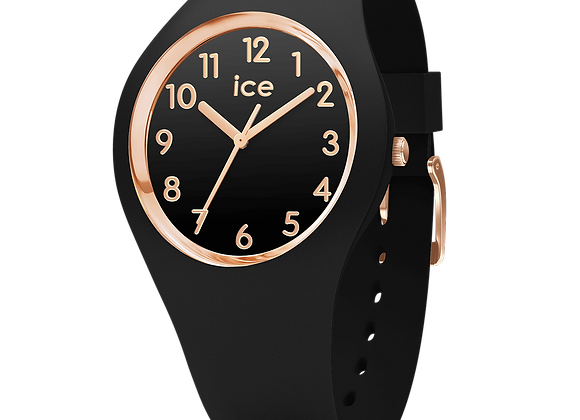 Montre ICE WATCH - ICE GLAM - BLACK ROSE-GOLD - NUMBERS - MEDIUM - 001055