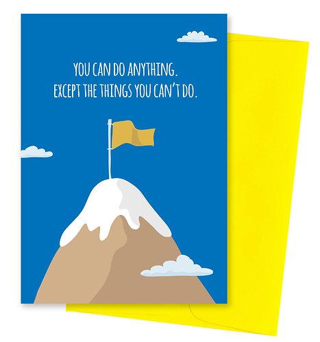 Mountain - Uninspirational Card