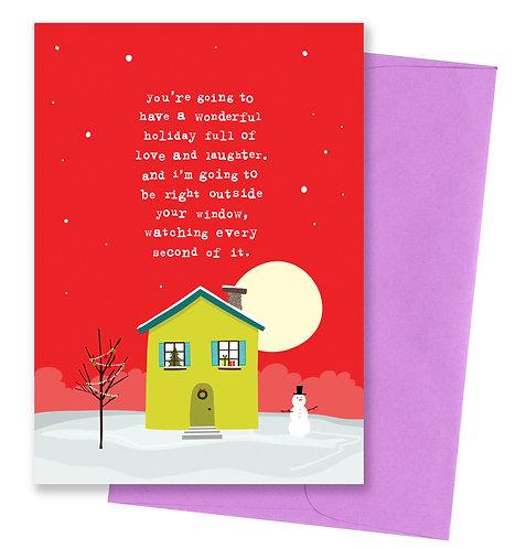 Wonderful holiday - Card