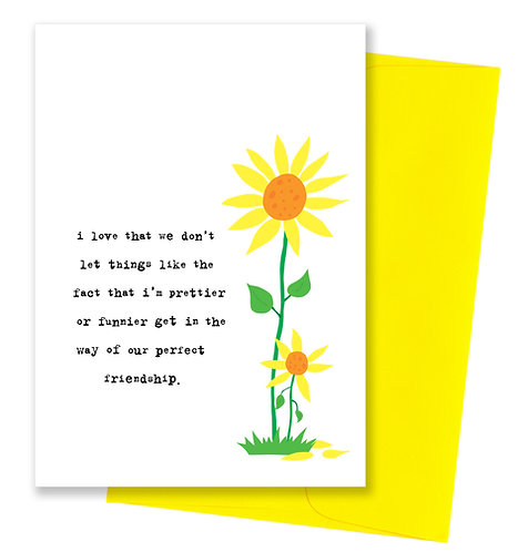 Perfect friendship - Card 6 Pack