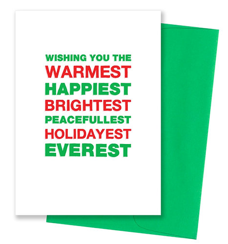 Everest - Holiday Card