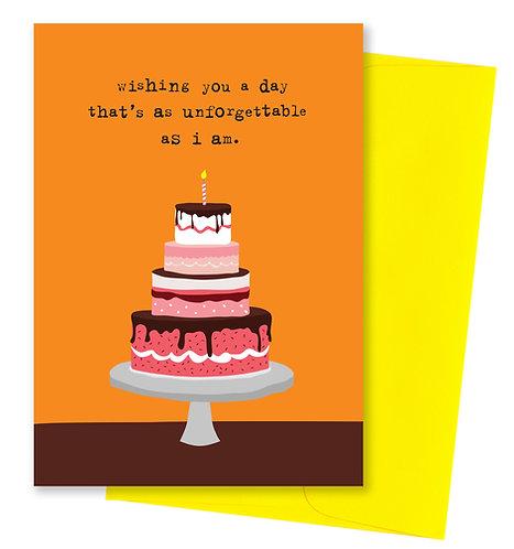 Wishing you - Birthday Card