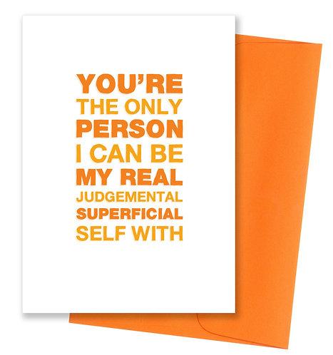 Judgemental - Friendship Card 6 Pack