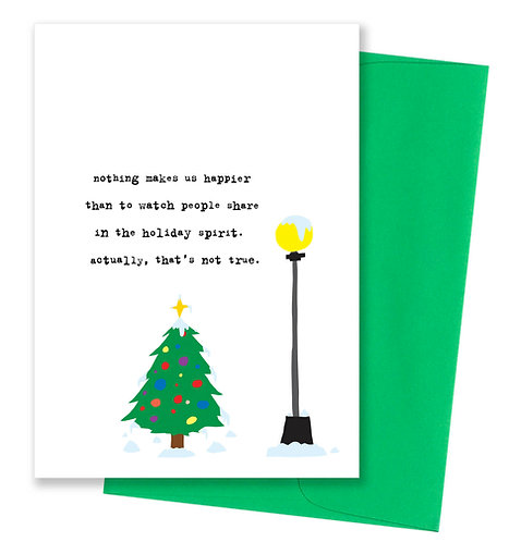 That's not true - Holiday Card