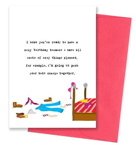 Sexy birthday - Birthday Card