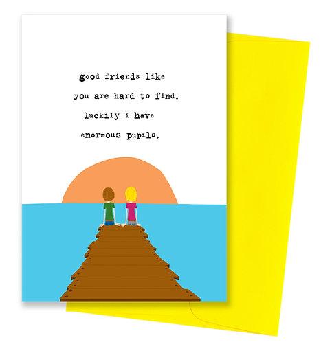 Enormous pupils - Friendship Card 6 Pack