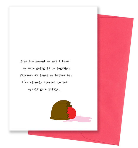 Together forever - Love Card