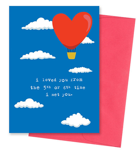 Loved - Love Card