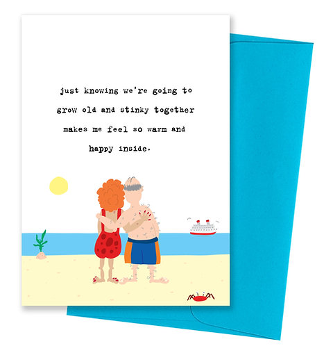 Old and Stinky - Love Card