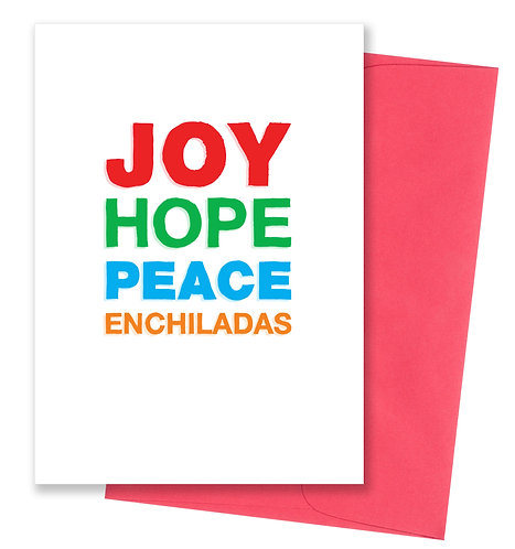 Enchiladas - Holiday Card 8 Pack