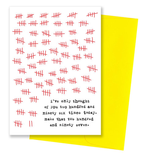 297 - Thinking Of You Card