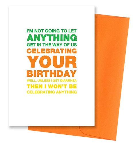 Celebrating - Birthday Card