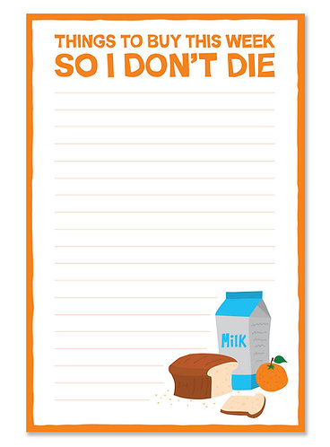 Don't die notepad