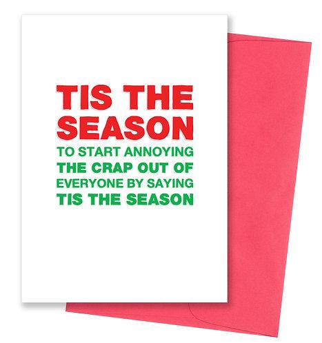 Tis the season - Holiday Card