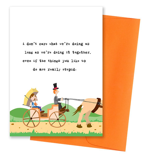 Really stupid - Love Card