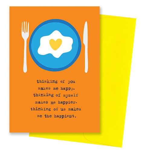 The happiest - Thinking Of You Card
