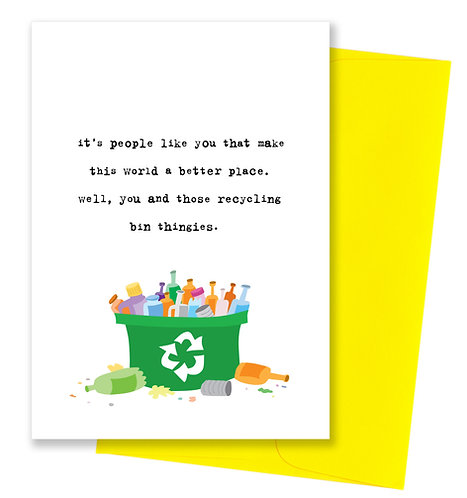 Better place - Friendship Card 6 Pack