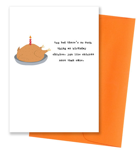 Birthday chicken - Birthday Card