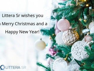 Season's Greetings from Littera SR