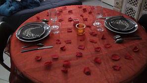 Chambres d'hôtes La Bastidasse - Table - Saint Valentin - Côte d'Azur - French Riviera - La Roquette sur Siagne