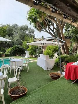 Chambres d'hôtes La Bastidasse - Traiteur - Table - piscine - Côte d'Azur - French Riviera - La Roquette sur Siagne