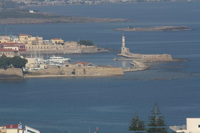 Chania's Venetian harbour, Crete