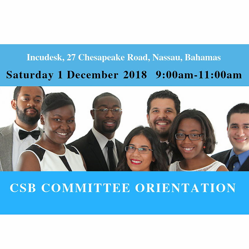 CSB Committee Orientation