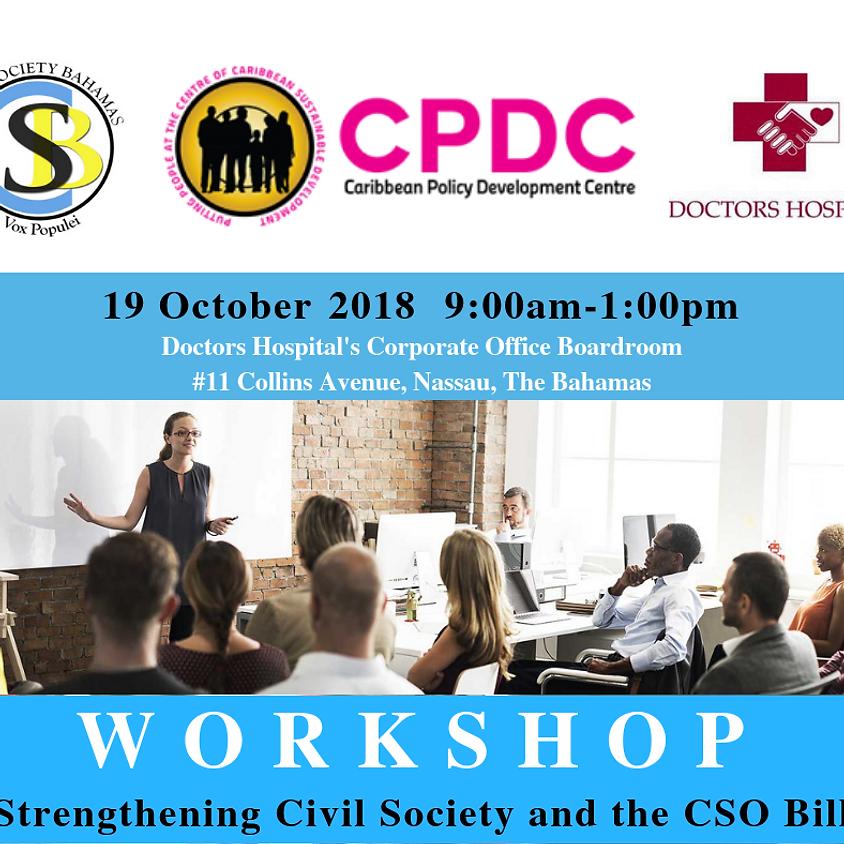 Workshop on CSO Bill Final Draft Amendments