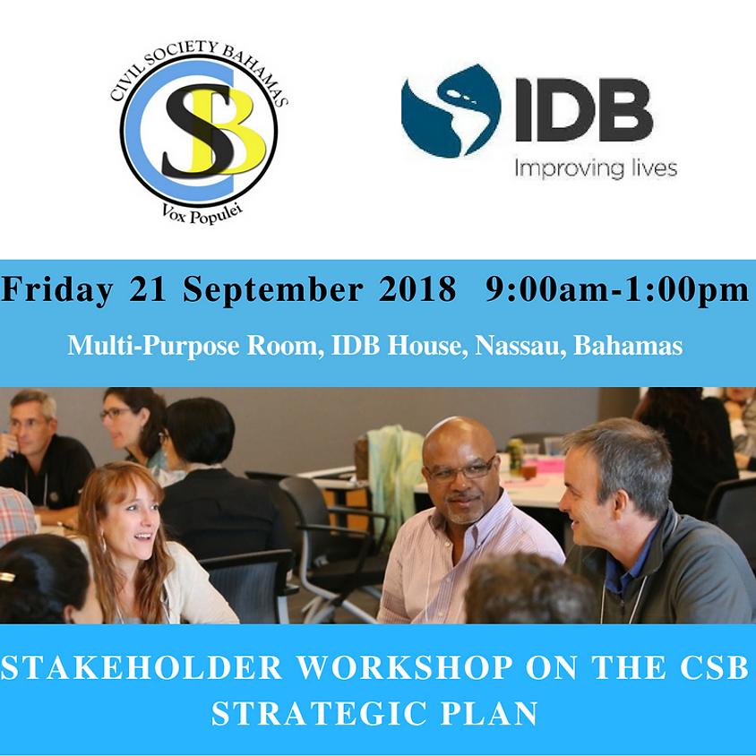 Stakeholder Workshop of the CSB 3 Year Strategic Plan