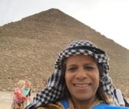Dr. Thomas in Giza