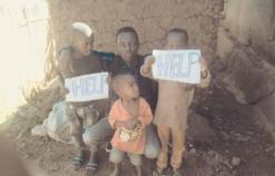 Shema Chris and Children in Kigali, Rwanda