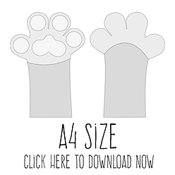 free paw template