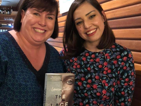 Mid-April Author Stalker with Lauren Chater!