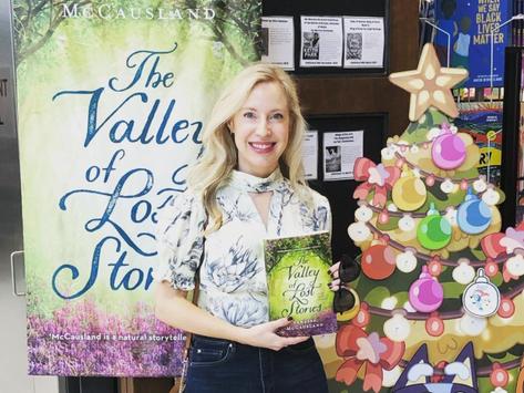 Jan 15th Author Stalker - Vanessa McCausland!