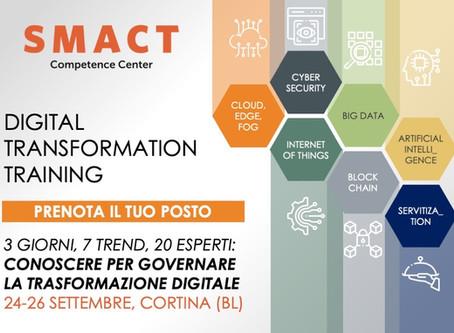 Partecipa al Digital Transformation Training