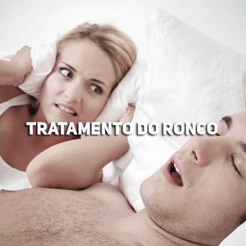 TRATAMENTO DO RONCO