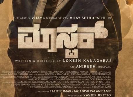 Master Movie  Kannada and Telugu First Look released