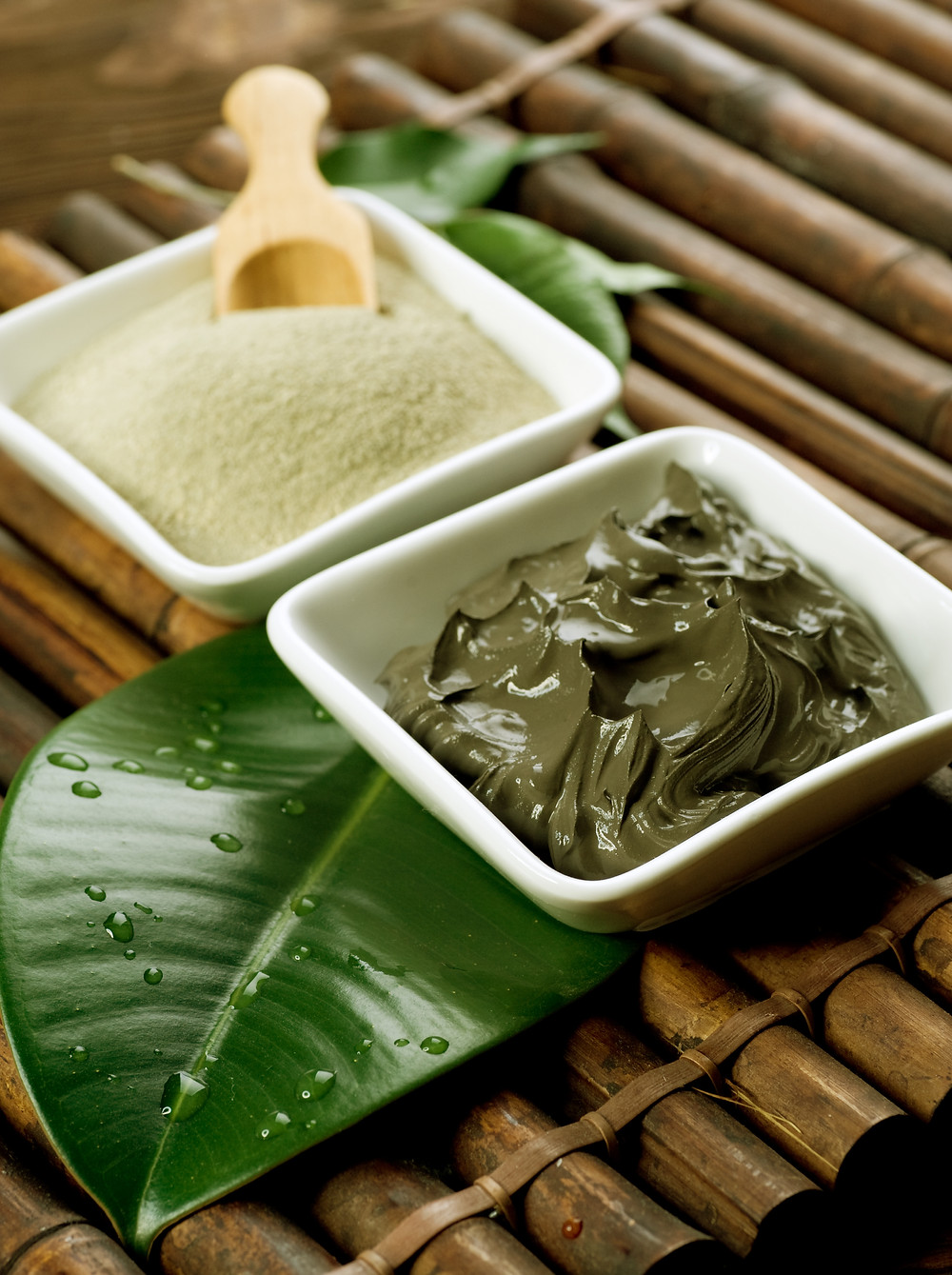Argila verde terapêutica