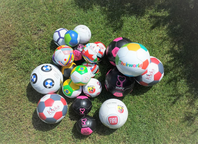 Branded Footballs