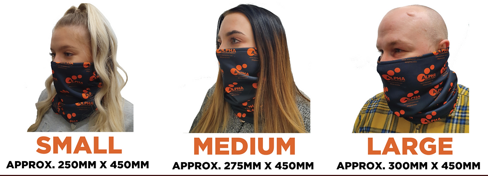 UK Manufactured Bespoke Branded Snood - Order from 50 Pieces