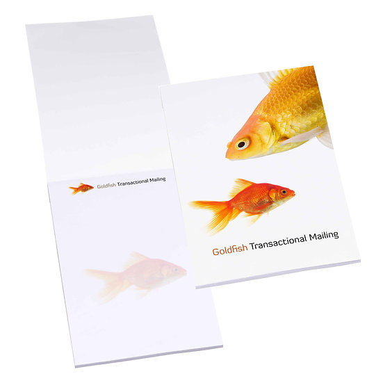 Promotional Note pads - full colour